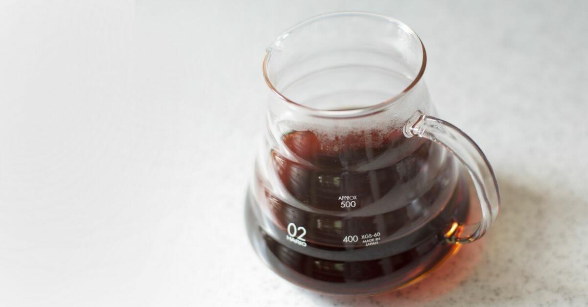 『森のコーヒー』ドリッパーサーバー