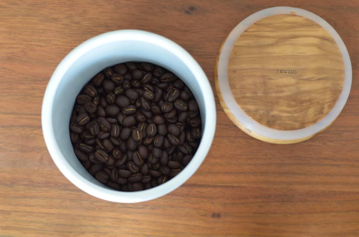 HARIOボナ・コーヒーキャニスター5