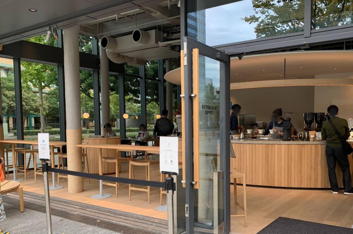 ブルーボトルコーヒーみなとみらいカフェ11