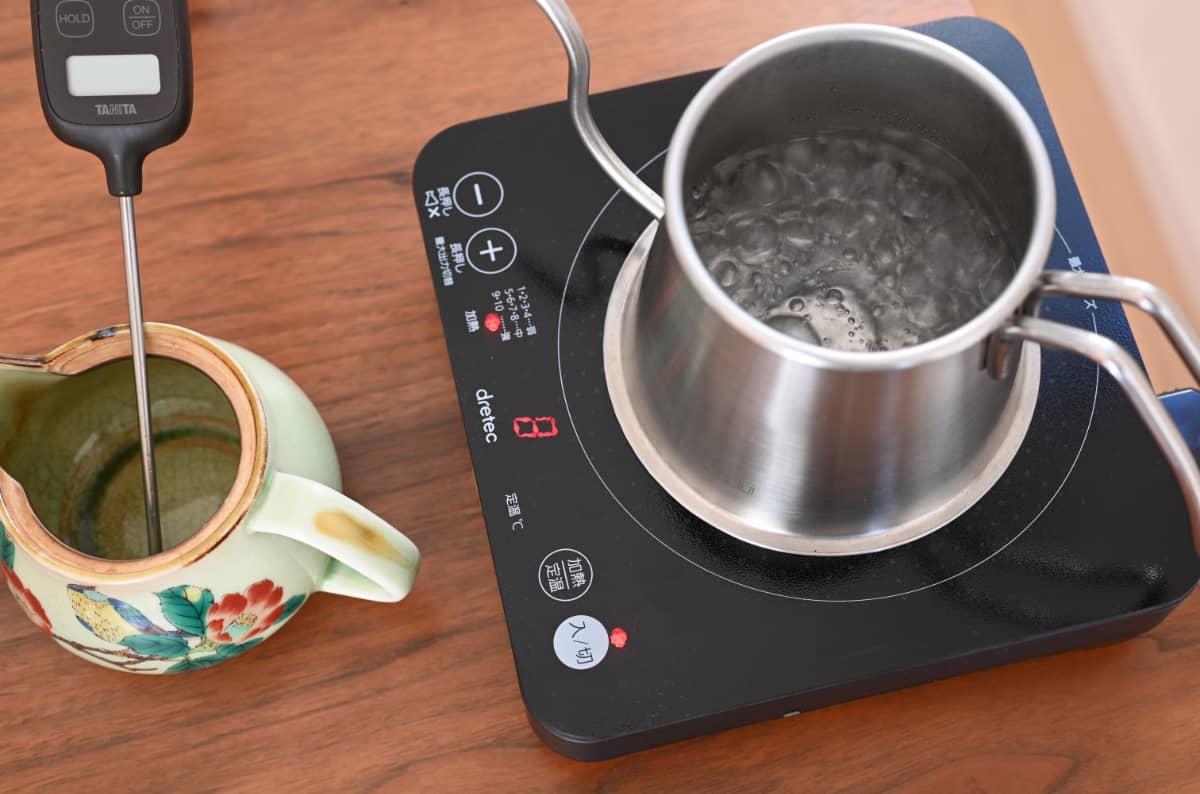 コーヒーを楽しむ簡単な方法 急須でドリップ2