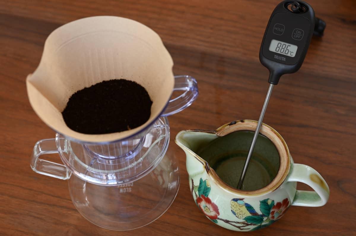 コーヒーを楽しむ簡単な方法 急須でドリップ4