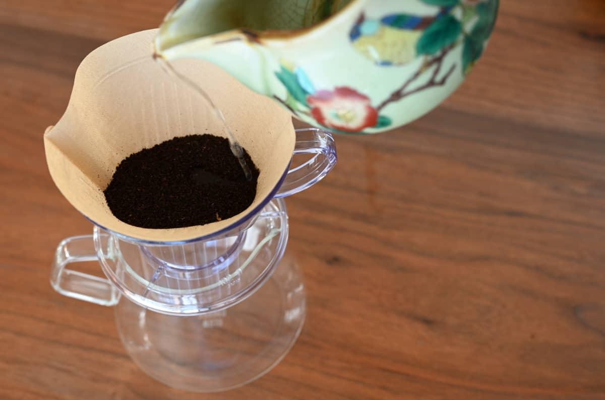 コーヒーを楽しむ簡単な方法 急須でドリップ5