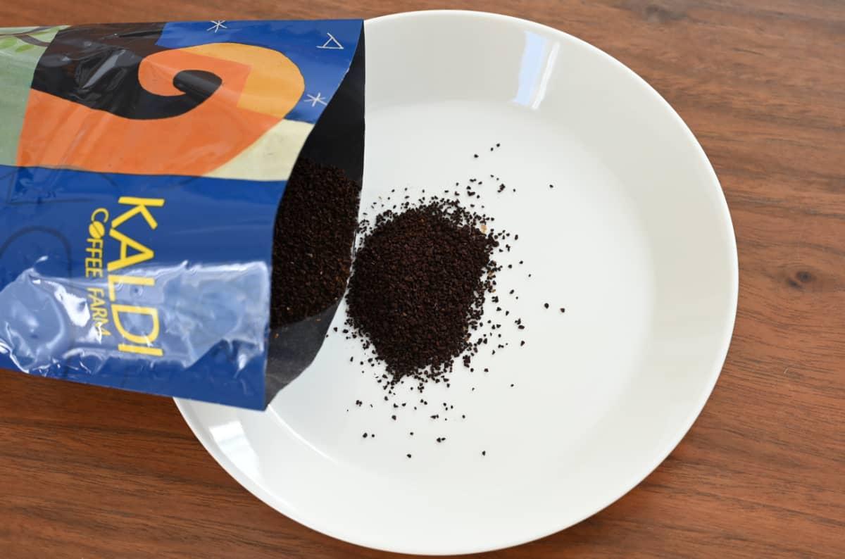 コーヒーを楽しむ簡単な方法 コーヒー粉