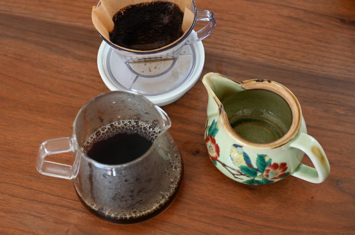 コーヒーを楽しむ簡単な方法 急須でドリップ9