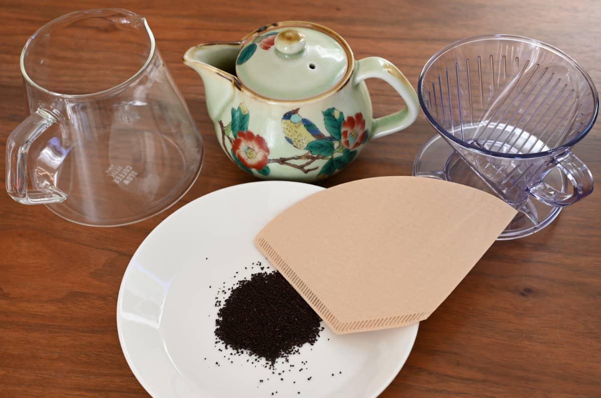 コーヒーを楽しむ簡単な方法 お試しハンドドリップ