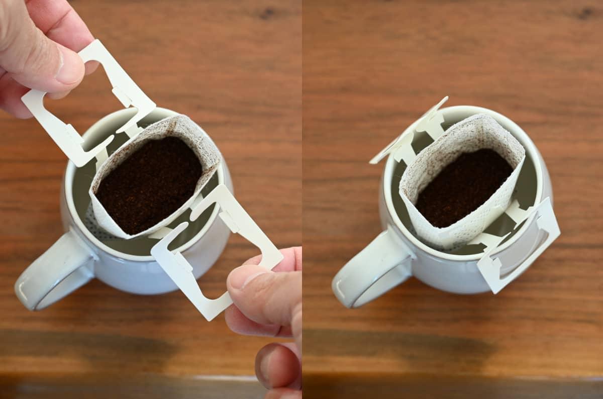 コーヒーを楽しむ簡単な方法 ドリップバッグ7