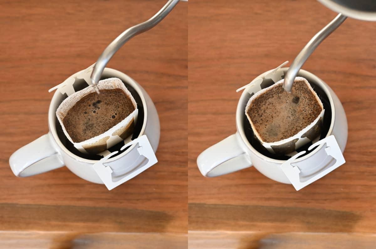 コーヒーを楽しむ簡単な方法 ドリップバッグ8