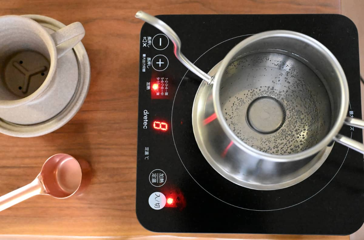 美味しいコーヒーの淹れ方6