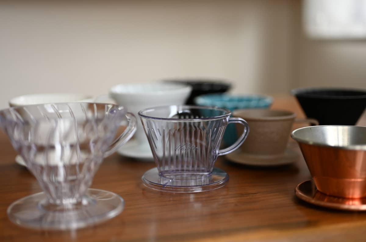 コーヒーをドリップする道具6