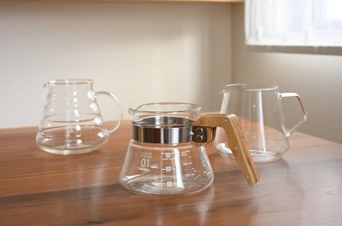コーヒーをドリップする道具8