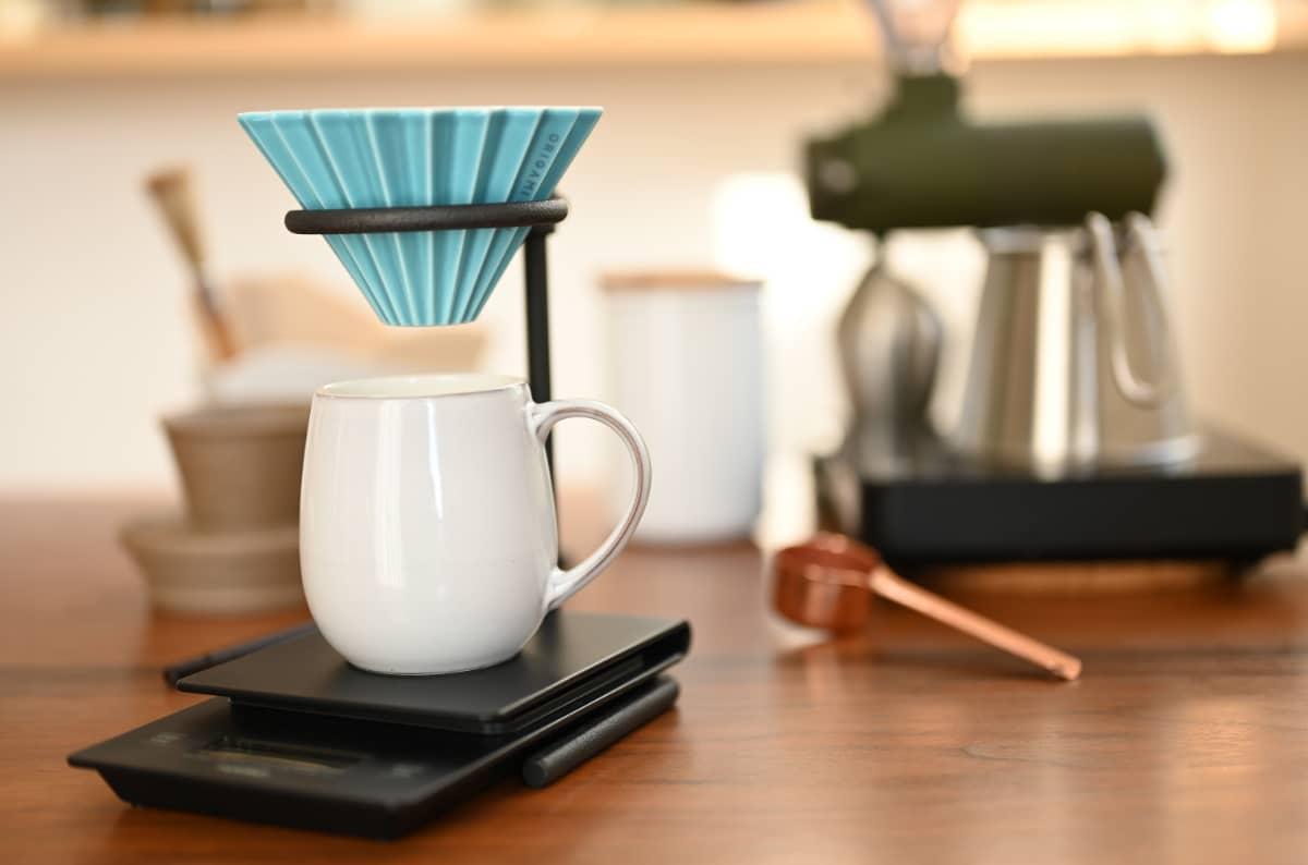 コーヒーをドリップする道具2