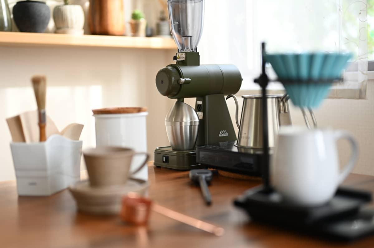 コーヒーをドリップする道具3