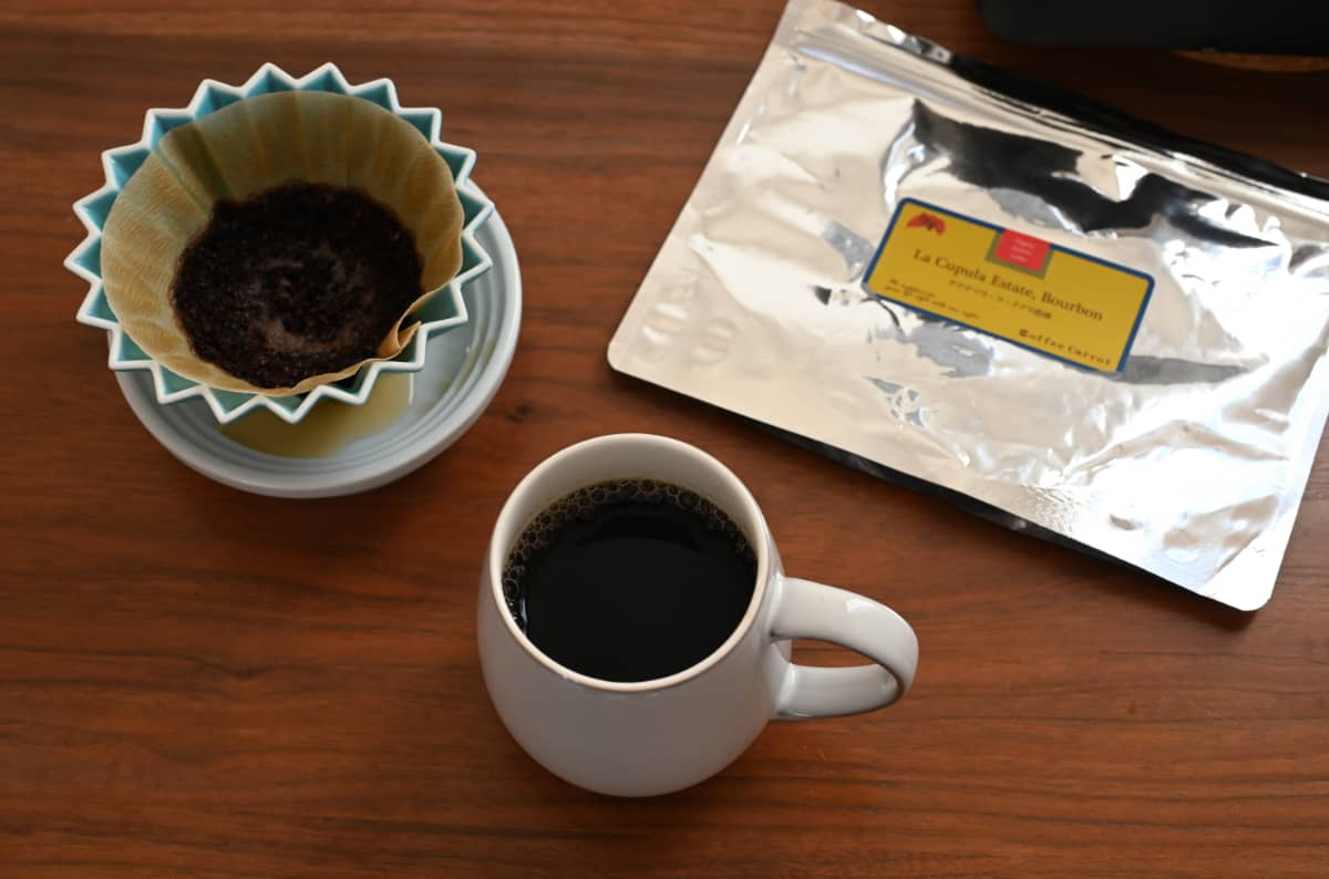珈琲きゃろっと『グアテマラ ラ・クプラ農園』ハンドドリップ マグカップ