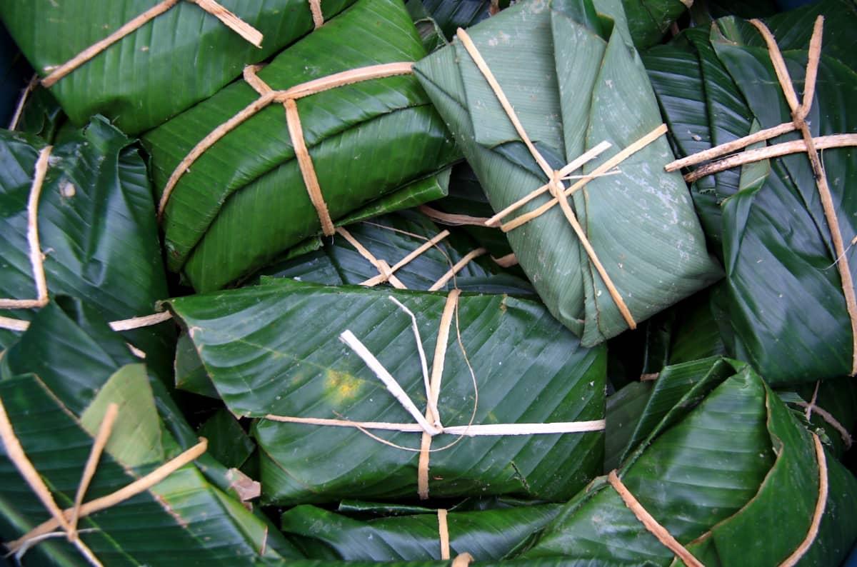 珈琲きゃろっと『グアテマラ ラ・クプラ農園』伝統的な食べ物 タマレ