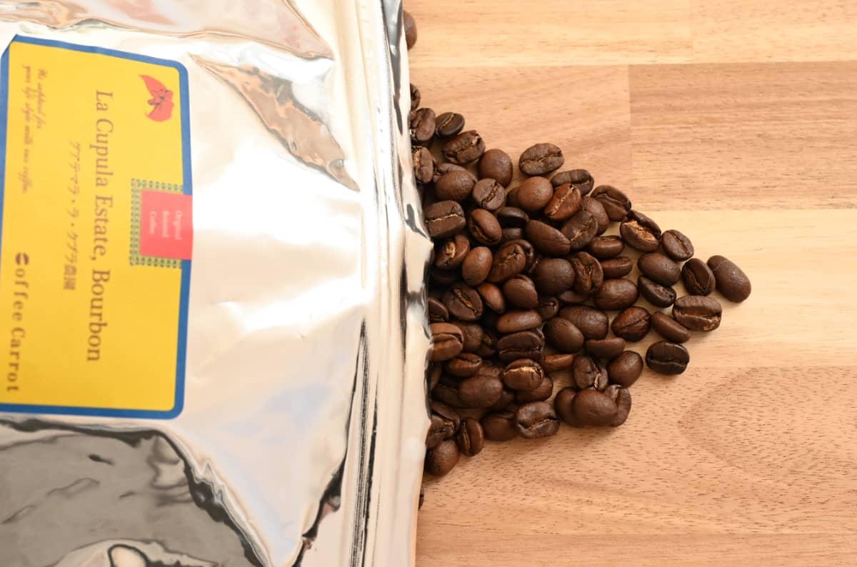 珈琲きゃろっと『グアテマラ ラ・クプラ農園』ブルボン コーヒー豆
