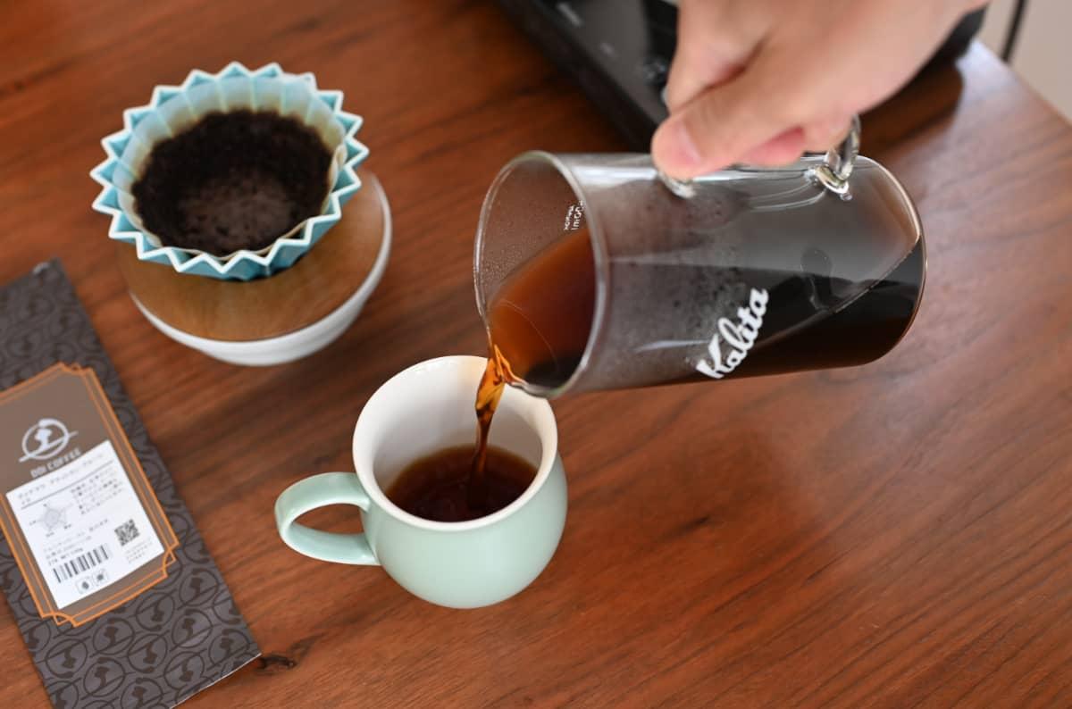 土居珈琲『グァテマラ アティトラン・ブルーレイク』コーヒー豆 ハンドドリップ 淹れる カリタ Jug500 ORIGAMI ピノアロママグ