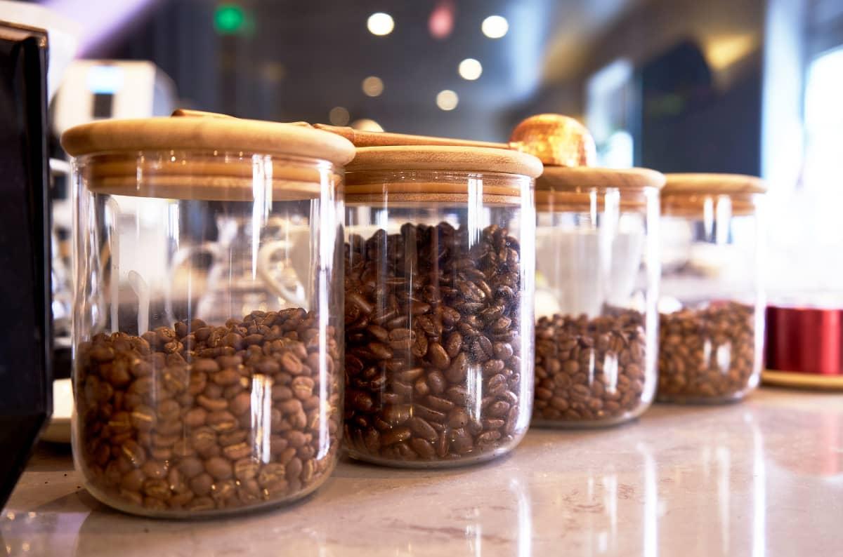 コーヒー豆の選び方 コーヒー豆の保存 キャニスタ