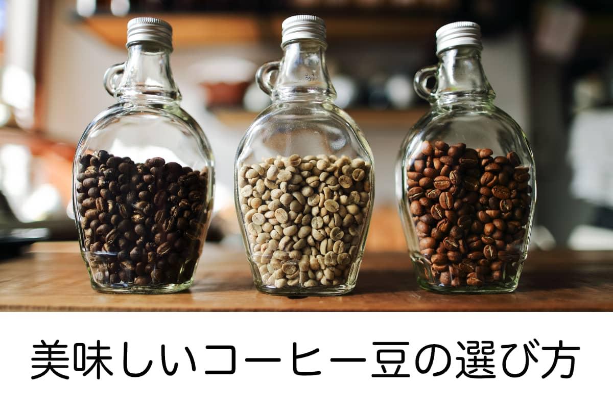 コーヒー豆の選び方 初心者向け 種類と定番