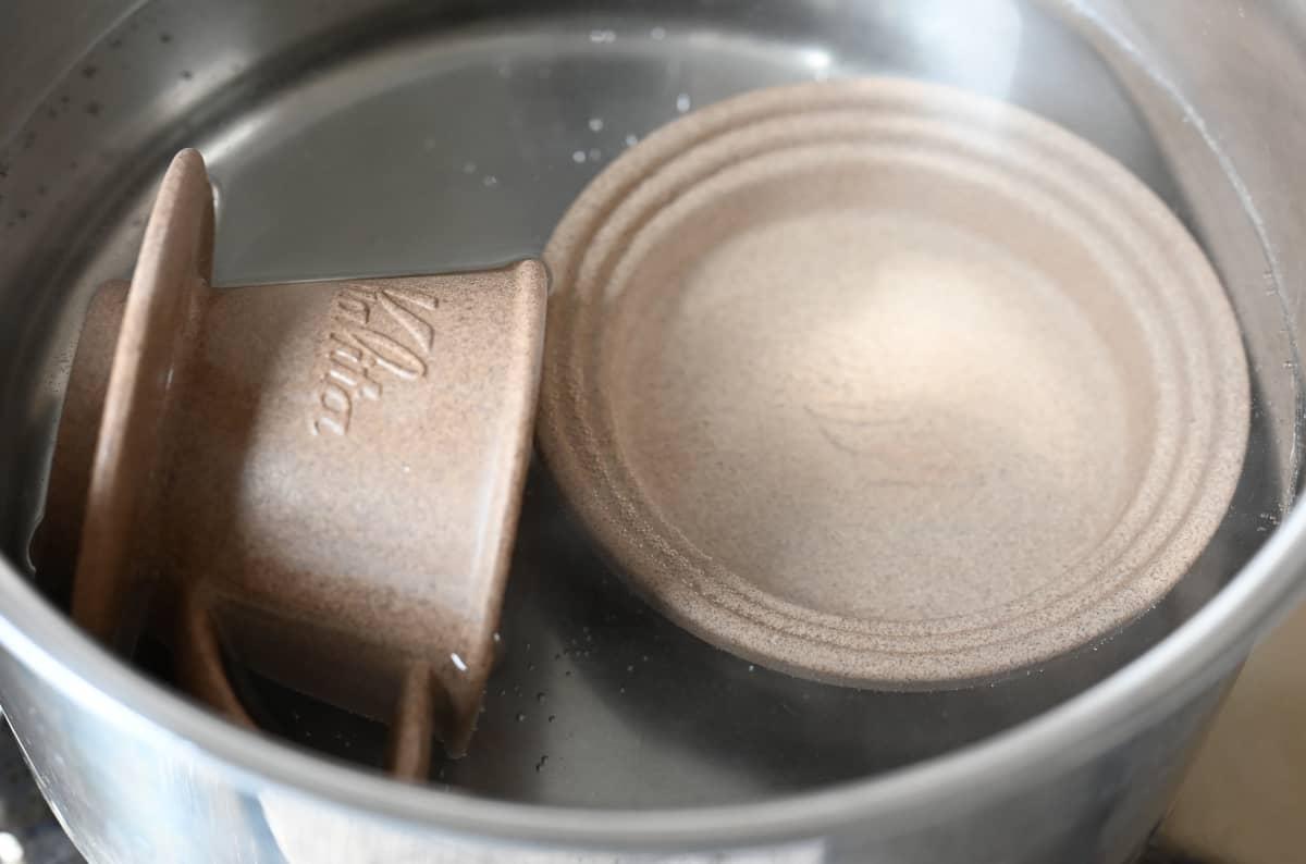 カリタ ウェーブドリッパー SG & SGトレイ 砂岩陶土 使用上の注意 吸水性が良い 水を染み込ませる