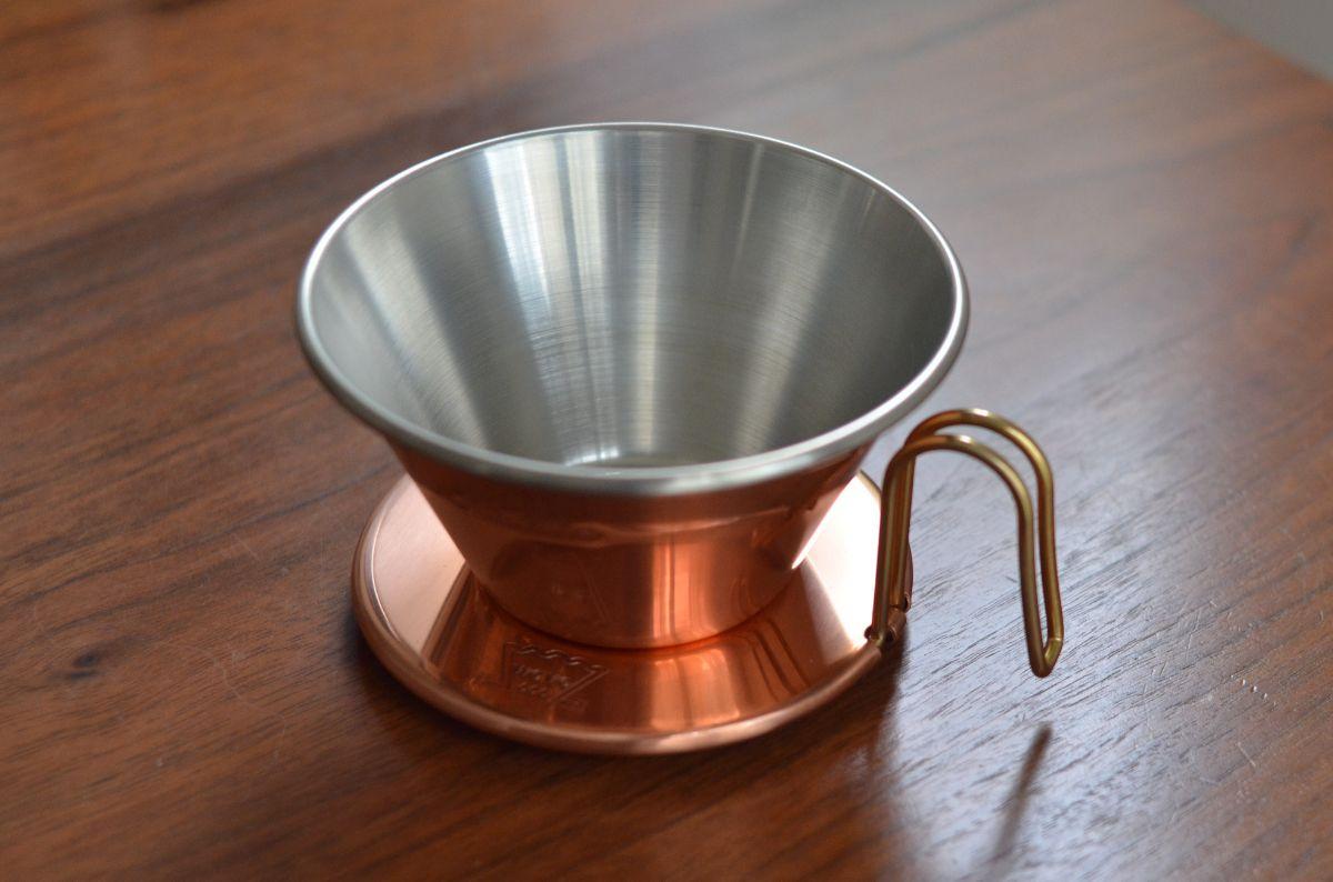 カリタ ウェーブドリッパー 銅製 185