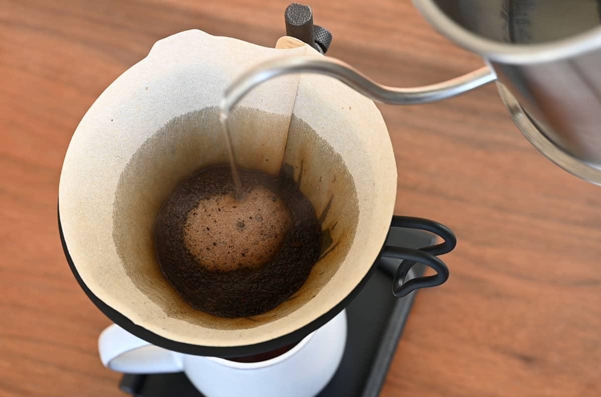 土居珈琲 マラウイ ムズズ・ユニオン ムズズコーヒー農園生産者組合 コーヒー豆 シティロースト ハンドドリップ ハリオ V60 メタル
