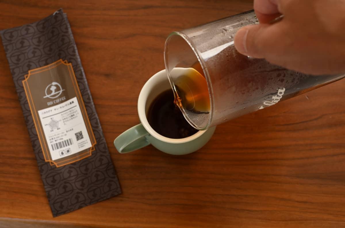 土居珈琲 ニカラグア サン・サルバドル農園 コーヒー豆 フルシティロースト カリタ ウェーブドリッパー 155 ジャグ500 ハンドドリップ