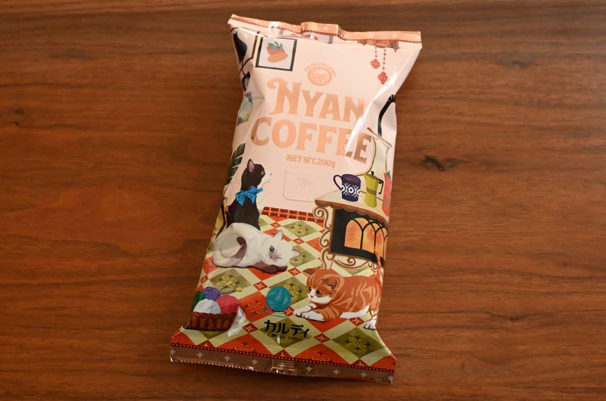 カルディ【焙煎珈琲】ニャンコーヒーセット オリジナルブレンド ルワンダ ブラジル