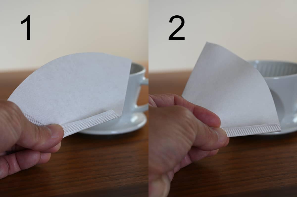 カリタ ドリッパー 波佐見焼 HA101 陶磁器 ペーパーフィルター 台形