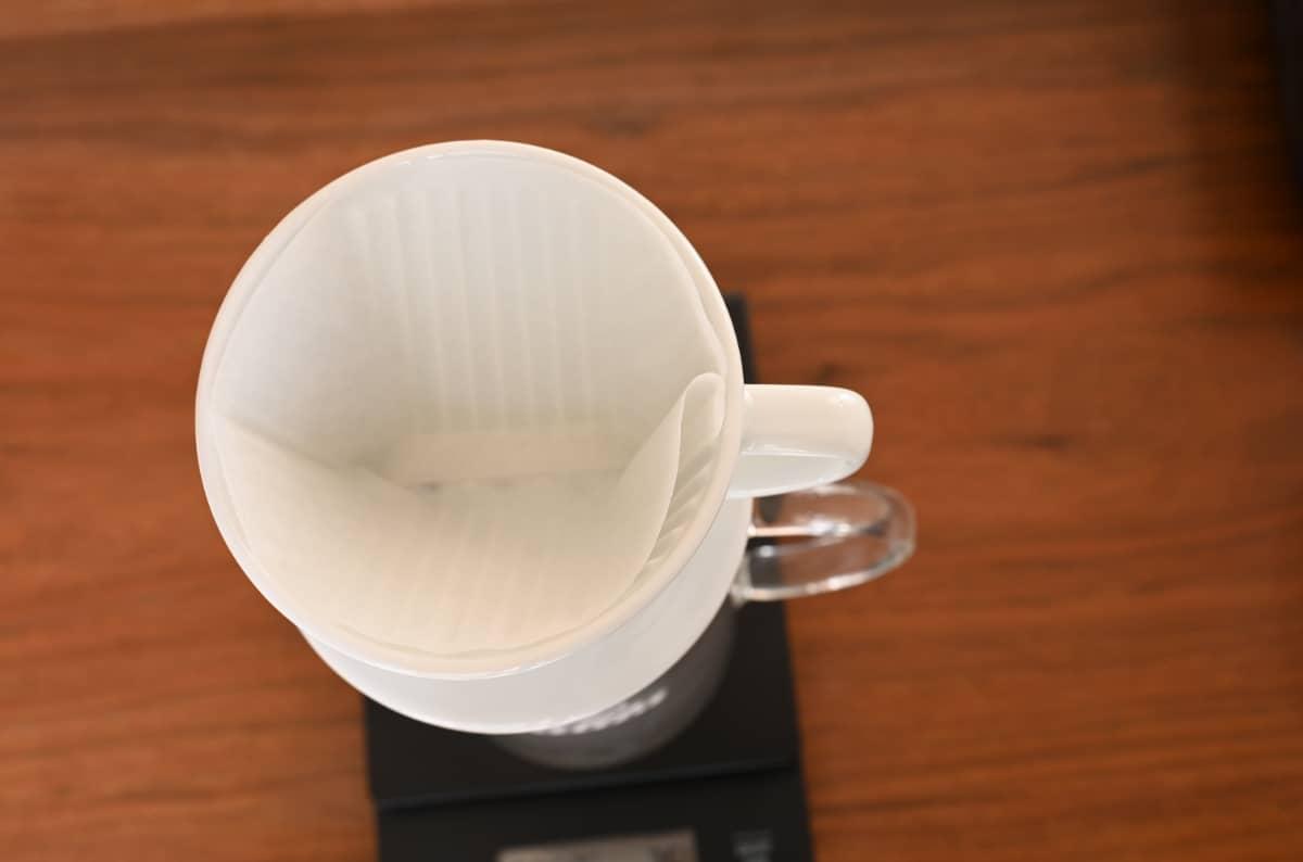 カリタ ドリッパー 波佐見焼 HA101 陶磁器 ペーパーフィルター 台形 リンス