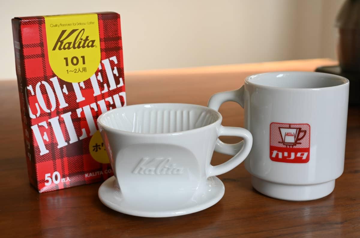 カリタ ドリッパー 波佐見焼 HA101 陶磁器 アマゾン 限定 スターターセット 非売品 マグカップ