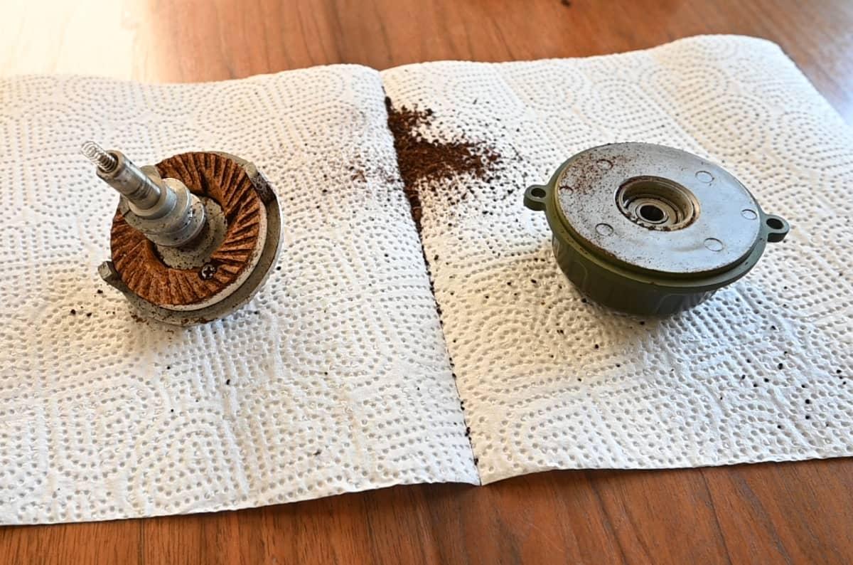 カリタ コーヒーミル ネクストG 掃除 手入れ ゼロ調整 カッター掃除