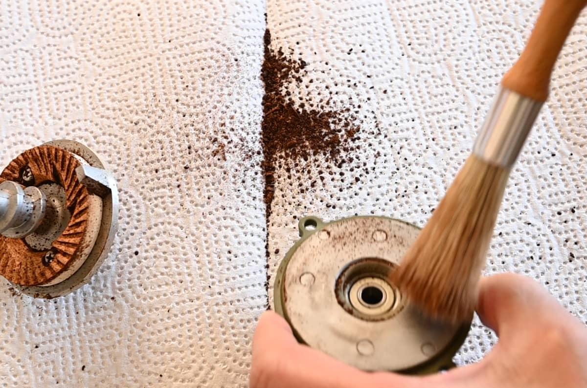 カリタ コーヒーミル ネクストG 掃除 手入れ ゼロ調整 カッター掃除 調整ダイヤル