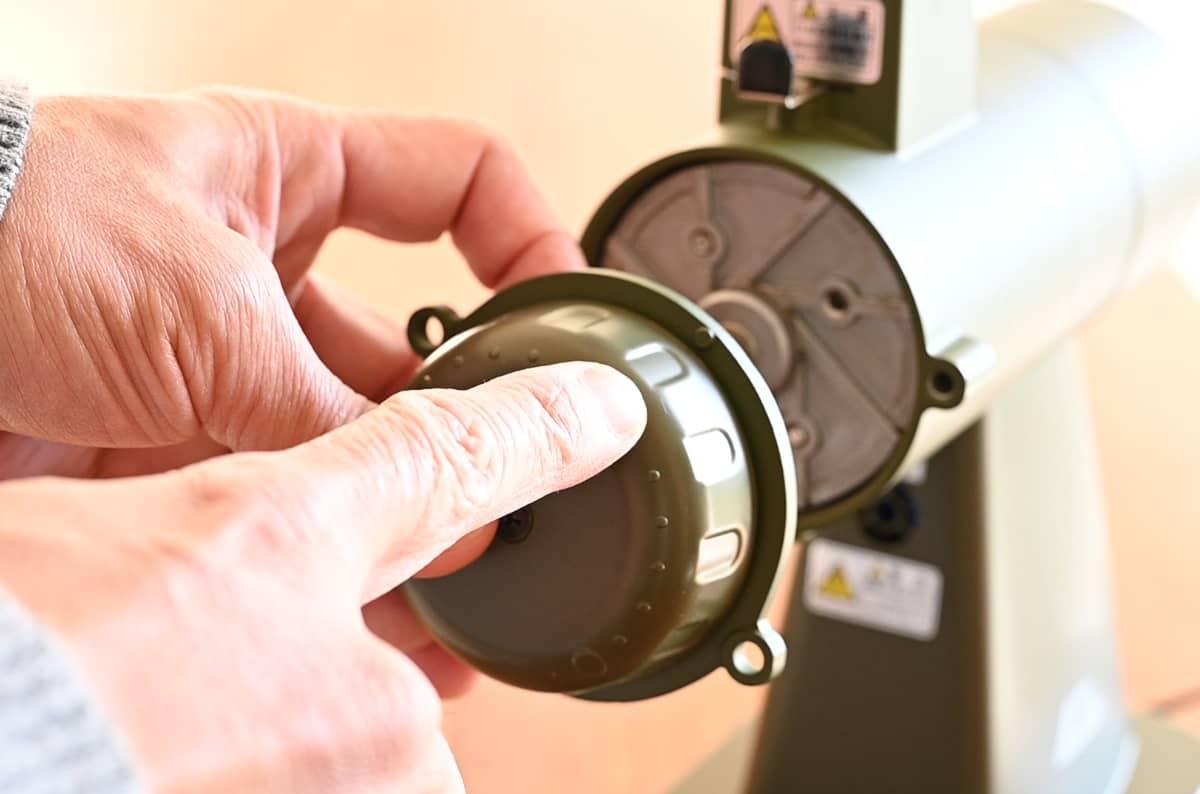 カリタ コーヒーミル ネクストG 掃除 手入れ ゼロ調整 カッター掃除 調整ダイヤル 戻し