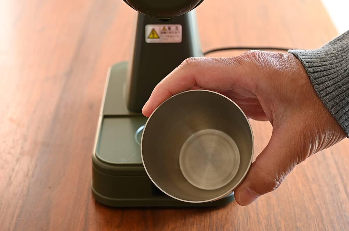 カリタ コーヒーミル ネクストG 掃除 手入れ ゼロ調整 受缶