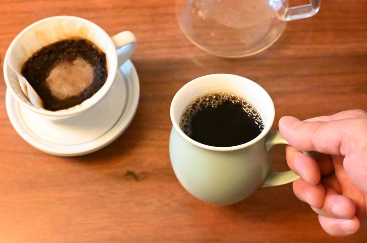コーヒー豆 レビュー 土居珈琲 ブラジル ショコラ シティロースト ハンドドリップ ORIGAMI ピノアロママグ