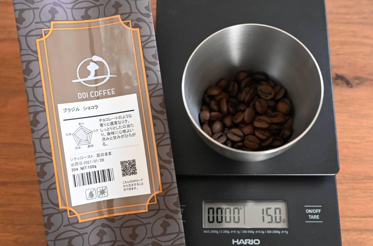コーヒー豆 レビュー 土居珈琲 ブラジル ショコラ