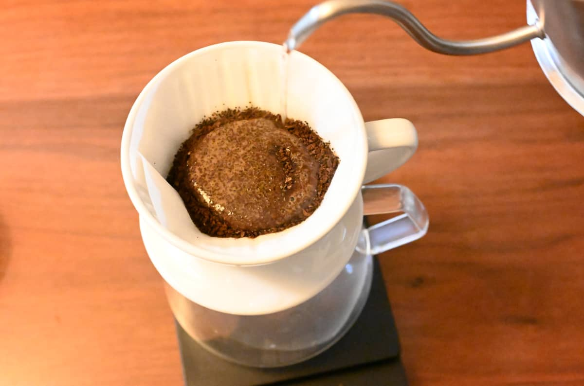 コーヒー豆 レビュー 土居珈琲 ブラジル ショコラ シティロースト ハンドドリップ 蒸らし