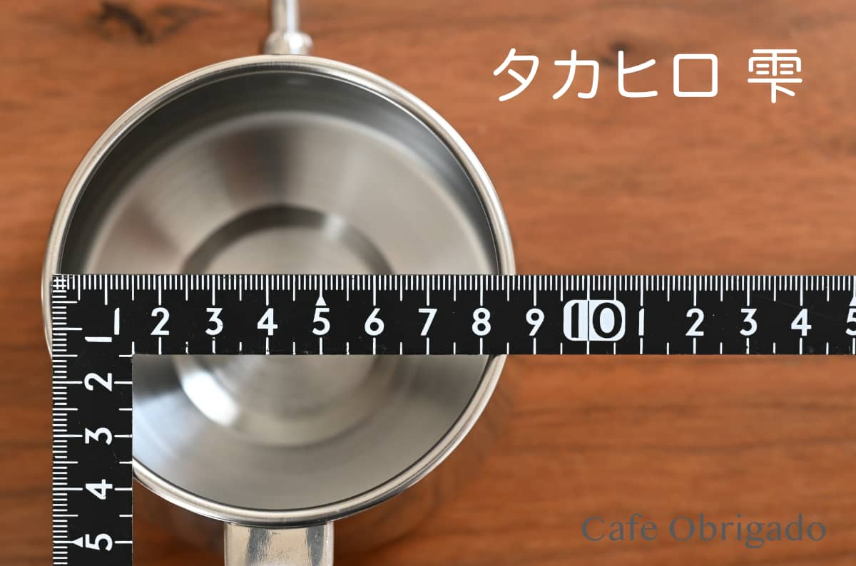 人気ドリップポット 徹底比較 ハリオ V60 珈琲考具 タカヒロ 雫 おすすめ タカヒロ コーヒードリップポット 雫 開口部